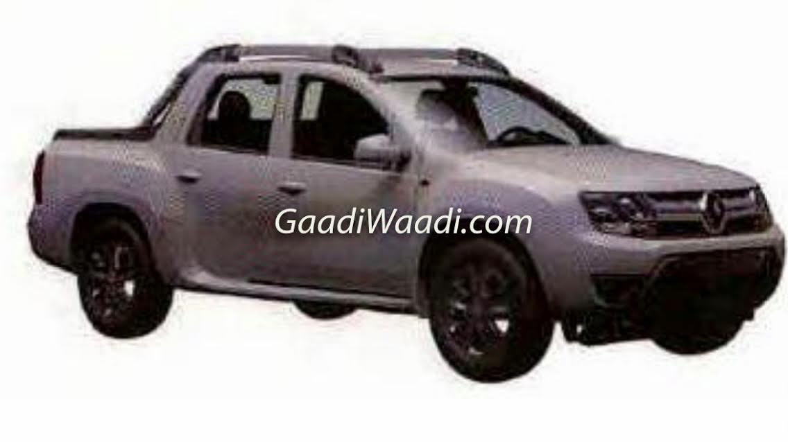 Renault Duster Oroch Pickup Truck India Launch Price