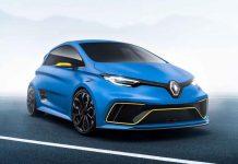 Renault unveils Zoe e-Sport Concept