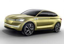 Skoda Vision E SUV concept