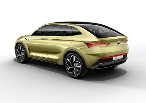 Skoda Vision E SUV concept 3