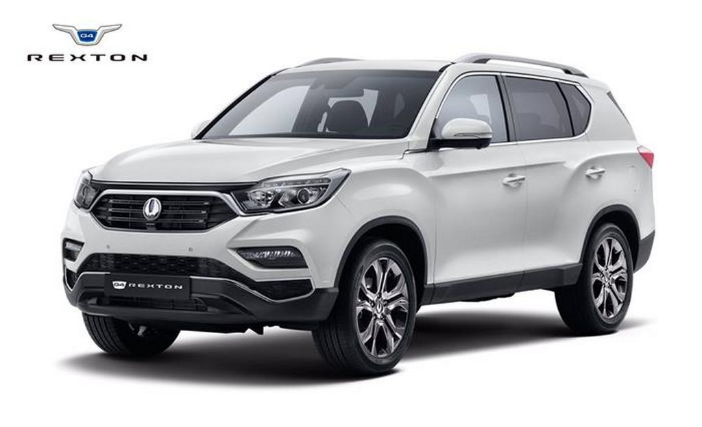 SsangYong Rexton Mahindra Y400 Fortuner Rival 1