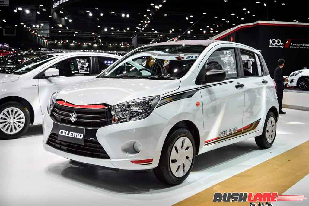 maruti suzuki celerio sport edition showcased at 2017 bims. Black Bedroom Furniture Sets. Home Design Ideas