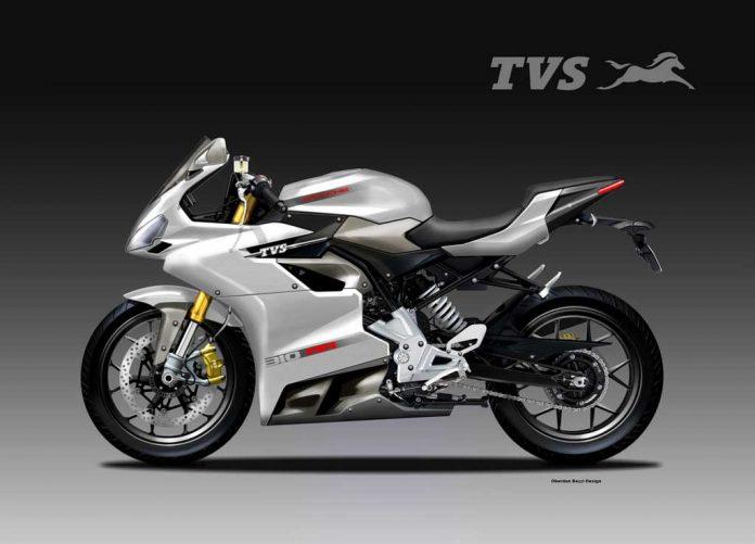Tnt Auto Sales >> TVS Apache 310 RR Concept Could Be a Perfect Racing Machine