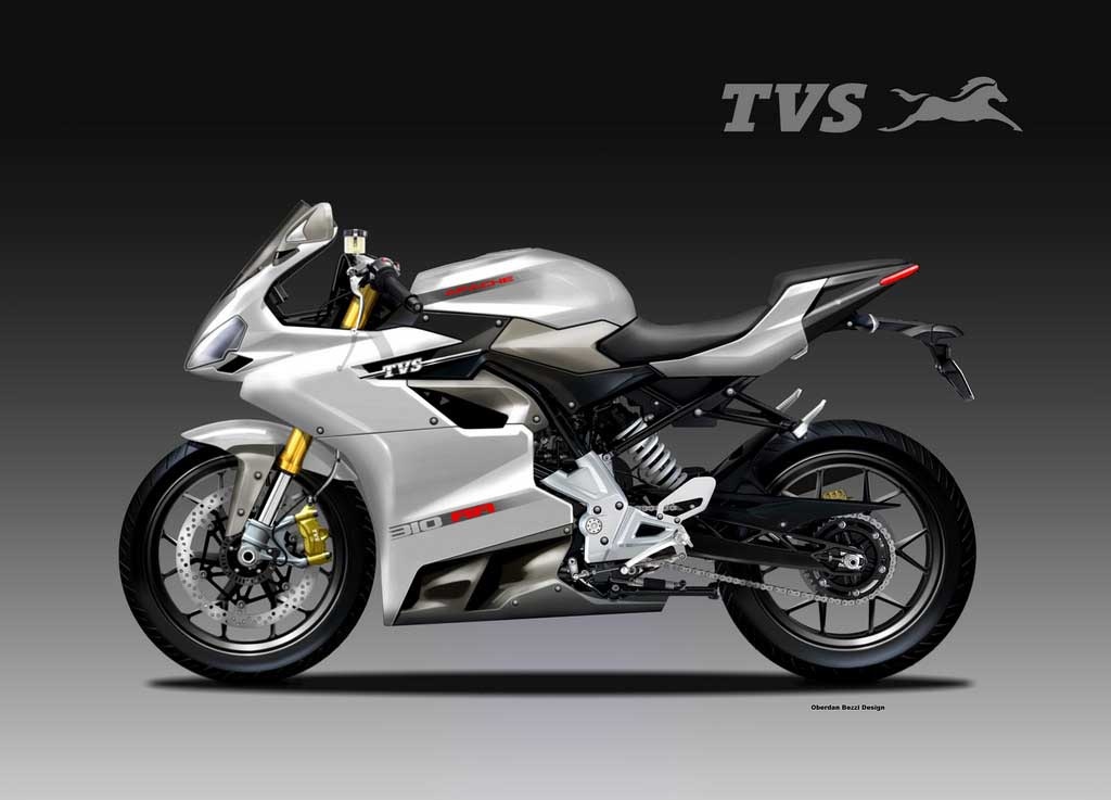 Tvs Apache 310 Rr Concept Could Be A Perfect Racing Machine