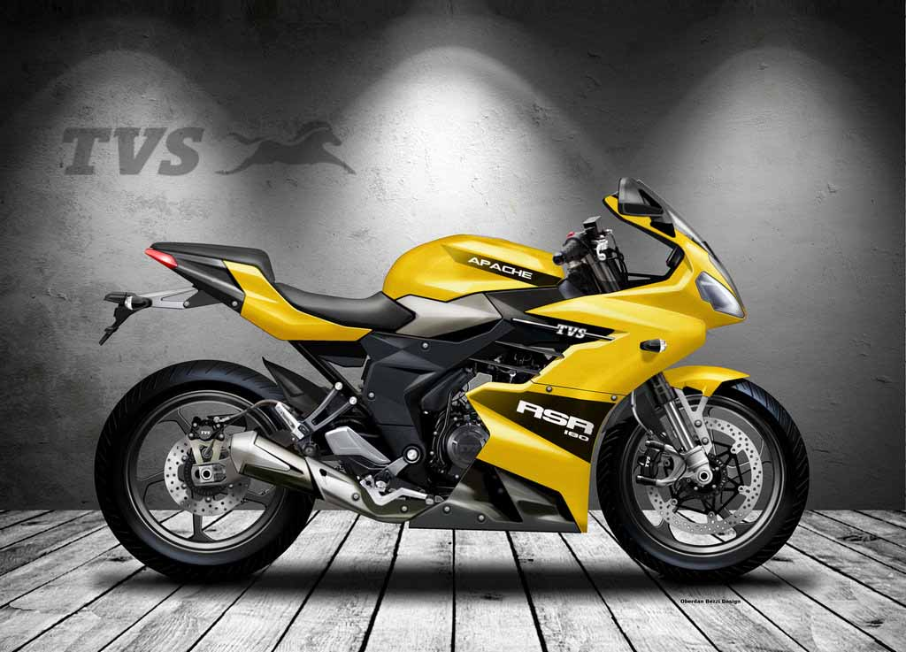 Tvs Apache Rsr 180 Concept Imagined With True Racing Dna