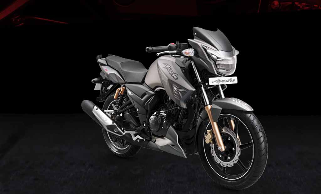 Tvs Apache Rtr 180 Rn Concept Is Simple Yet Fabulously Elegant