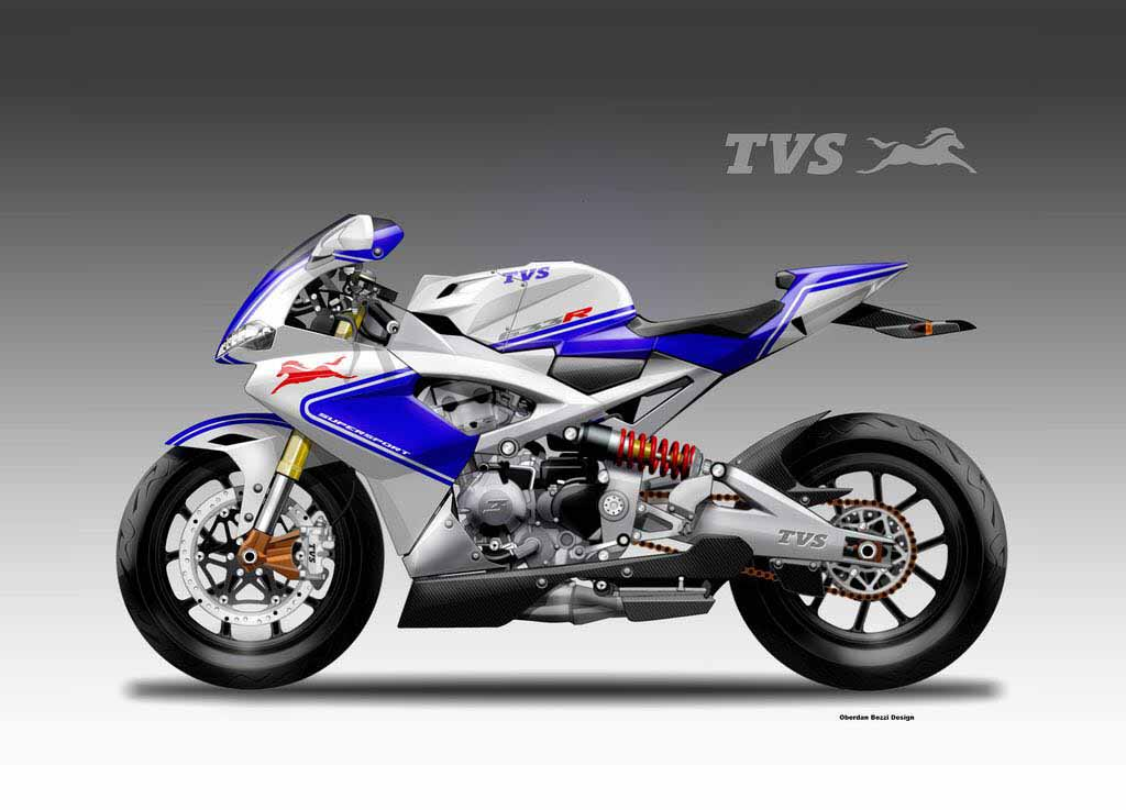 Tvs Supersport 633r Concept Is A Track Ready Monster Rendered