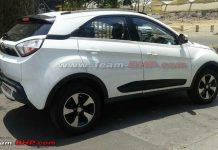Tata Nexon Spotted Testing Undisguised for the First Time 1