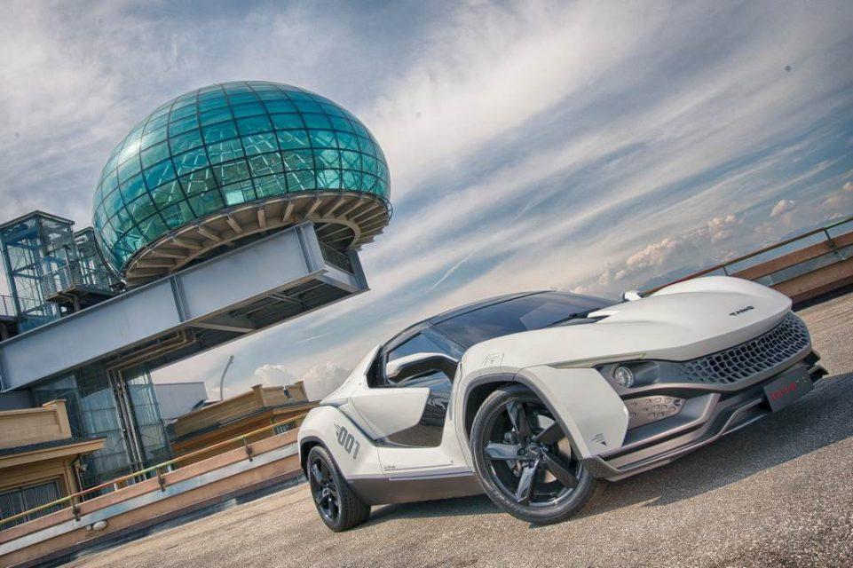 Tata Tamo RaceMo Sportscar Wins German Design Award 2018