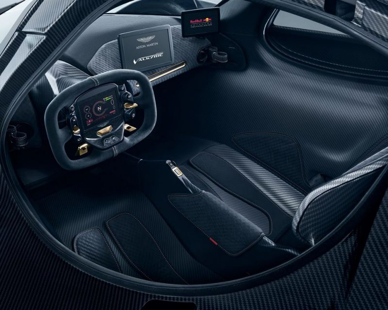 Updated Aston Martin Valkyrie Interior