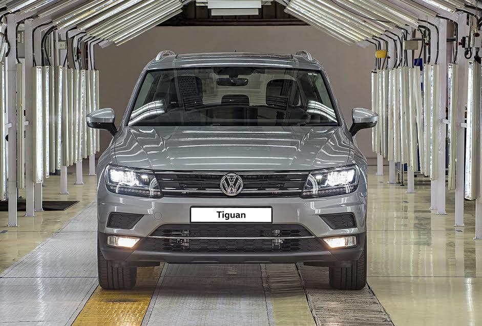 Volkswagen Tiguan Production Begins in India