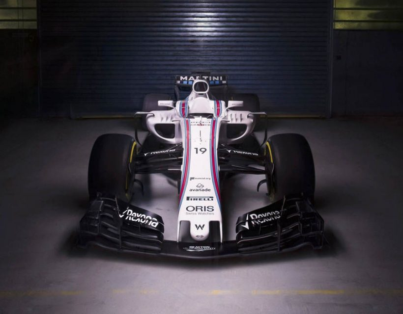 Williams FW40 F1 2017 Car