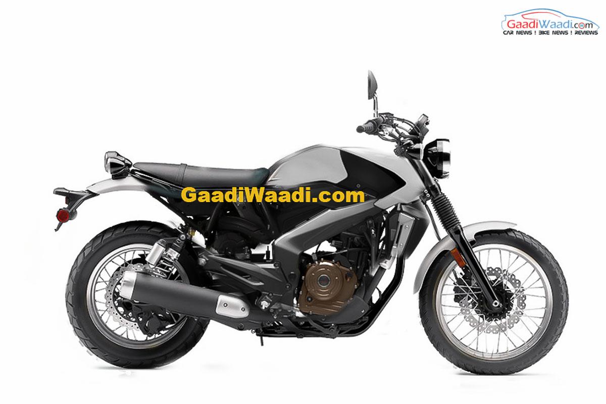 Exclusive Bajaj Scrambler Name Trademarked In India
