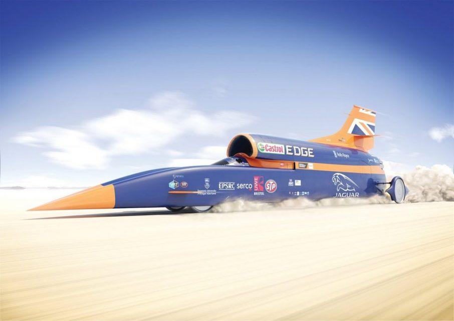 bloodhound SSC World Land Speed Record 2018