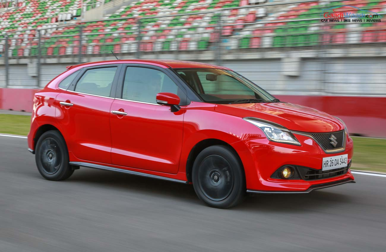 Suzuki Baleno Top Speed