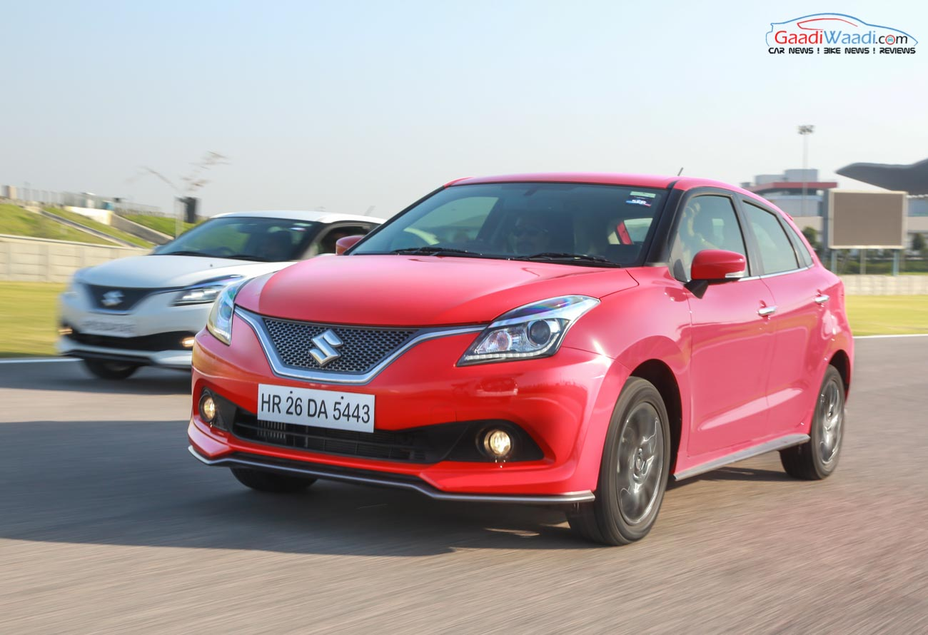 maruti suzuki baleno crosses two lakh sales milestone in under two years. Black Bedroom Furniture Sets. Home Design Ideas