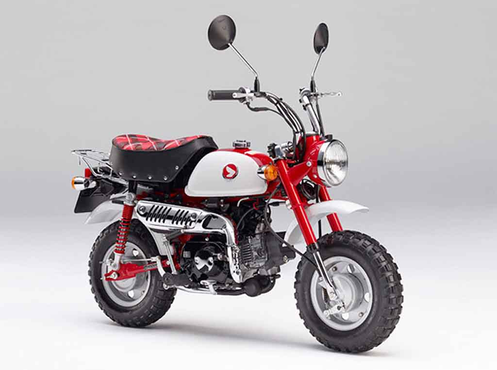 honda monkey minibike ends its 50 year old legacy. Black Bedroom Furniture Sets. Home Design Ideas