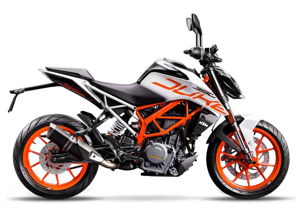 ktm duke 390 white limited edition available at unchanged price. Black Bedroom Furniture Sets. Home Design Ideas