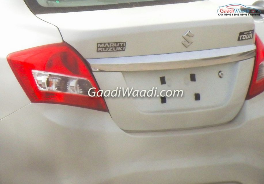 2017 Maruti Suzuki Swift Dzire Tour