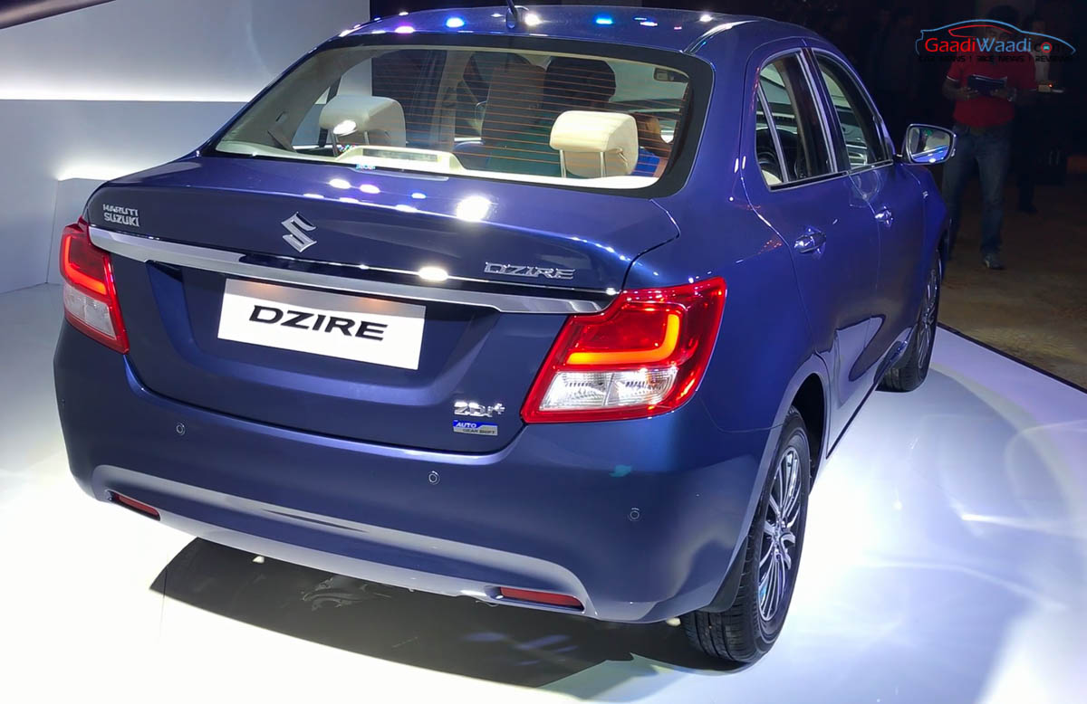 New 2017 Maruti Dzire Launched from Rs.5.45 Lacs - Price ...