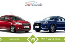 2017 dzire vs ford aspire