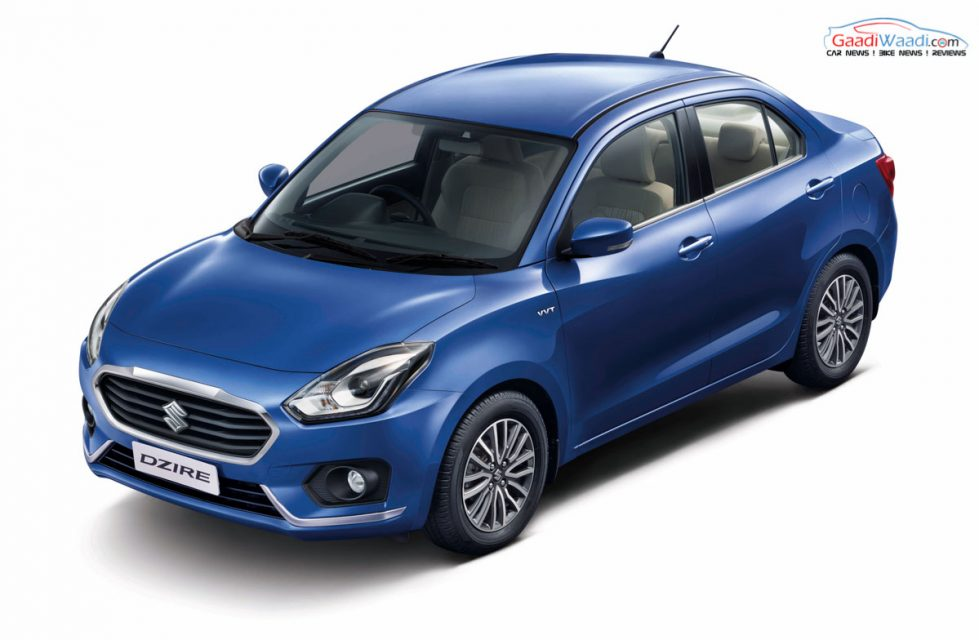 2017 Maruti Dzire Launched from Rs.5.45 Lacs - Price ...