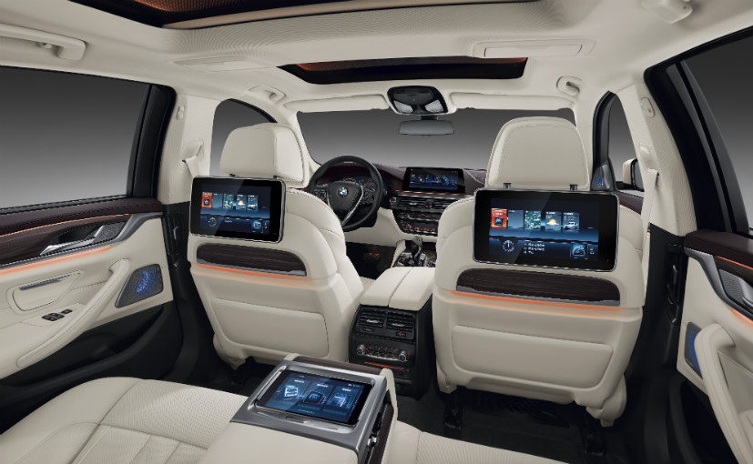 BMW 5-Series Li Luxury Package Interior