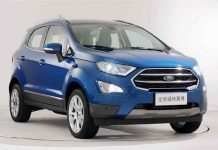 China Spec Ford EcoSport Facelift 1