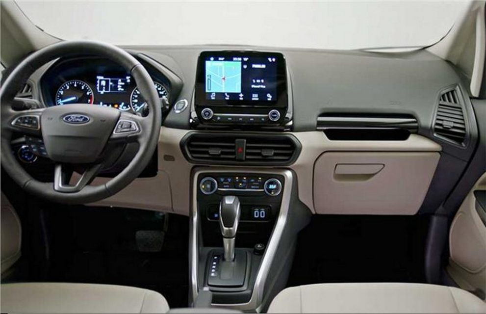 China Spec Ford EcoSport Facelift Interior