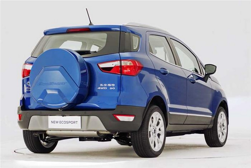 China Spec Ford Ecosport Facelift