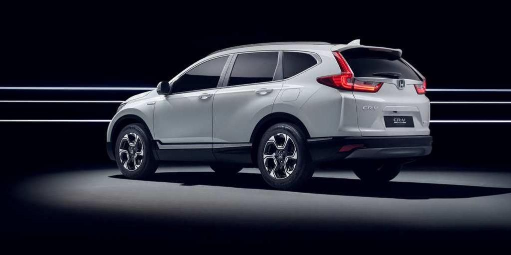 Honda CR-V Hybrid Prototype Revealed In Frankfurt 1