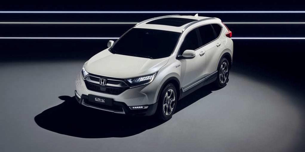 Honda CR-V Hybrid Prototype Revealed In Frankfurt 2