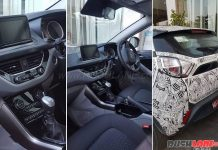 Interior of Tata Nexon SUV Clearly Spied in New Images