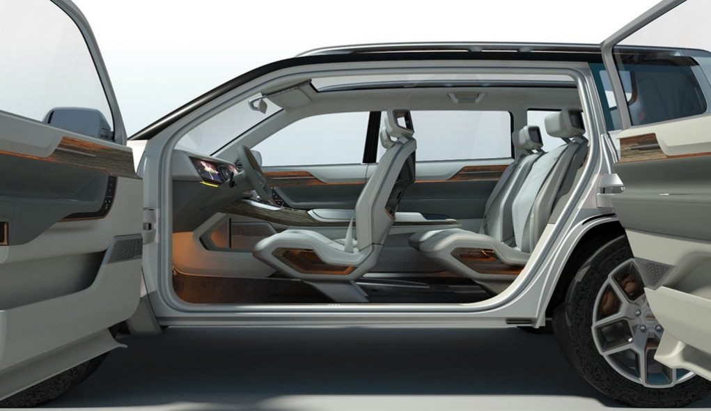 jeep yuntu concept revealed previews seven seater cherokee suv. Black Bedroom Furniture Sets. Home Design Ideas