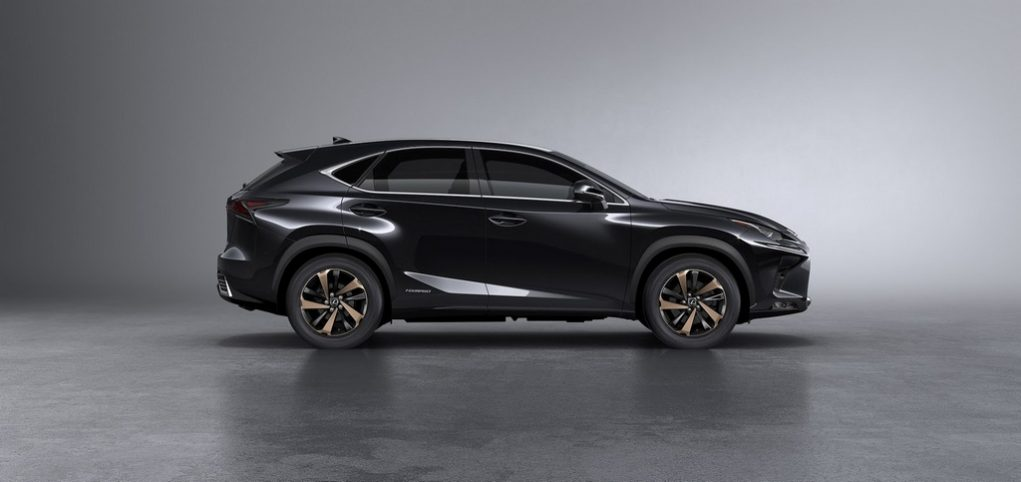 Lexus NX Facelift 2018 300h Side
