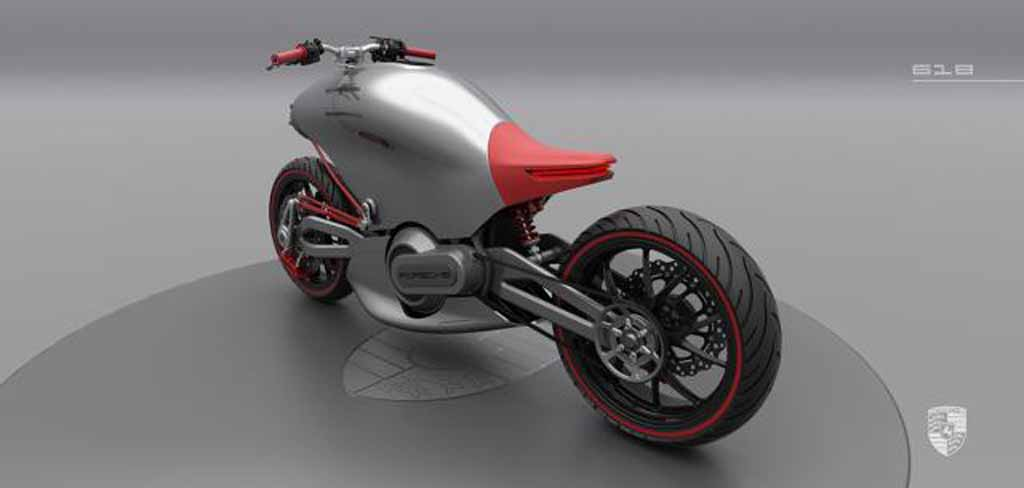 Porsche Motorcycle Concept Looks Like A Futuristic Faired