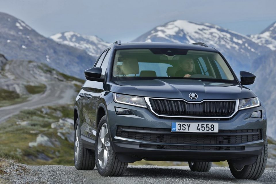 Skoda Kodiaq India Launch Date Price Specs Features Interior Grille headlamp