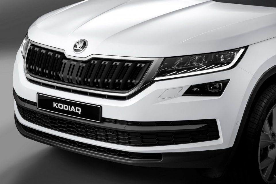 Skoda Kodiaq India Launch Date Price Specs Features Interior front fascia