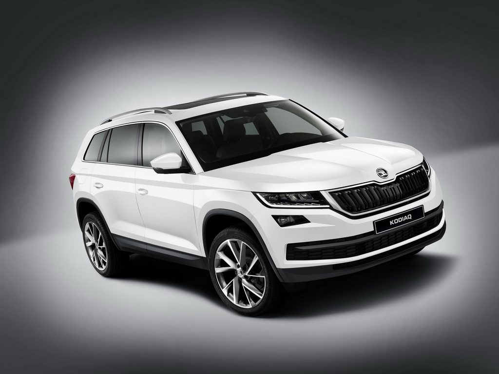 Image result for Skoda Kodiaq SUV unveiled in India at Rs 34.49 lakhs