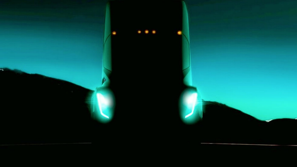 Tesla Semi Truck Teased
