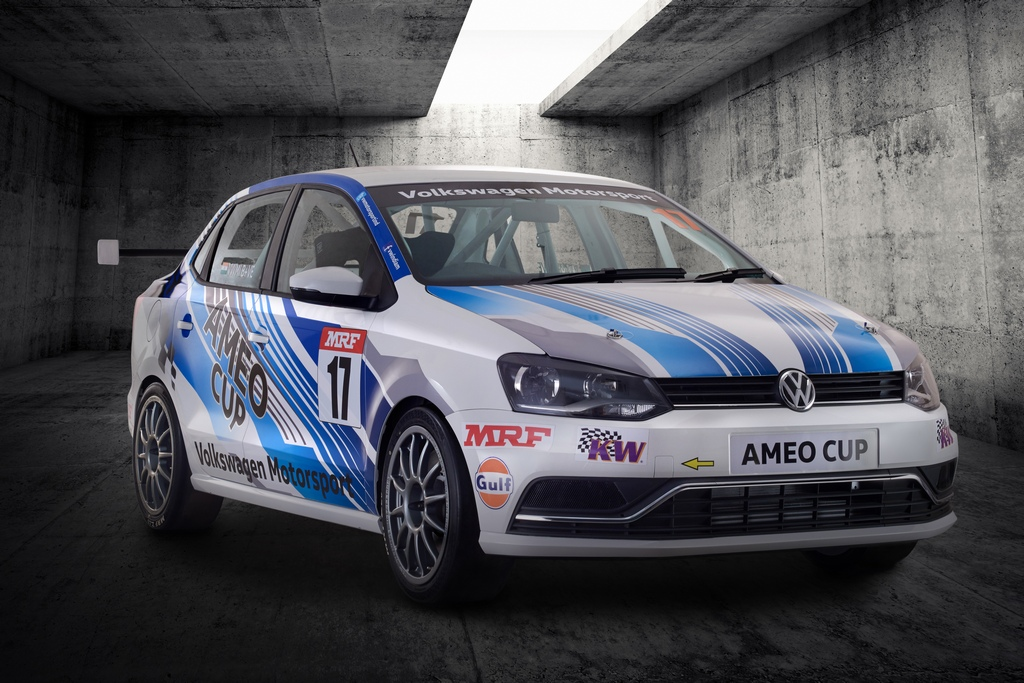 2017 Volkswagen Ameo Cup Car Is The Fastest Vw Racer Built In India