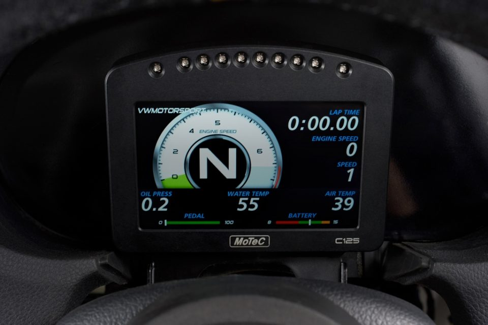 Volkswagen Ameo Cup_Dash Display