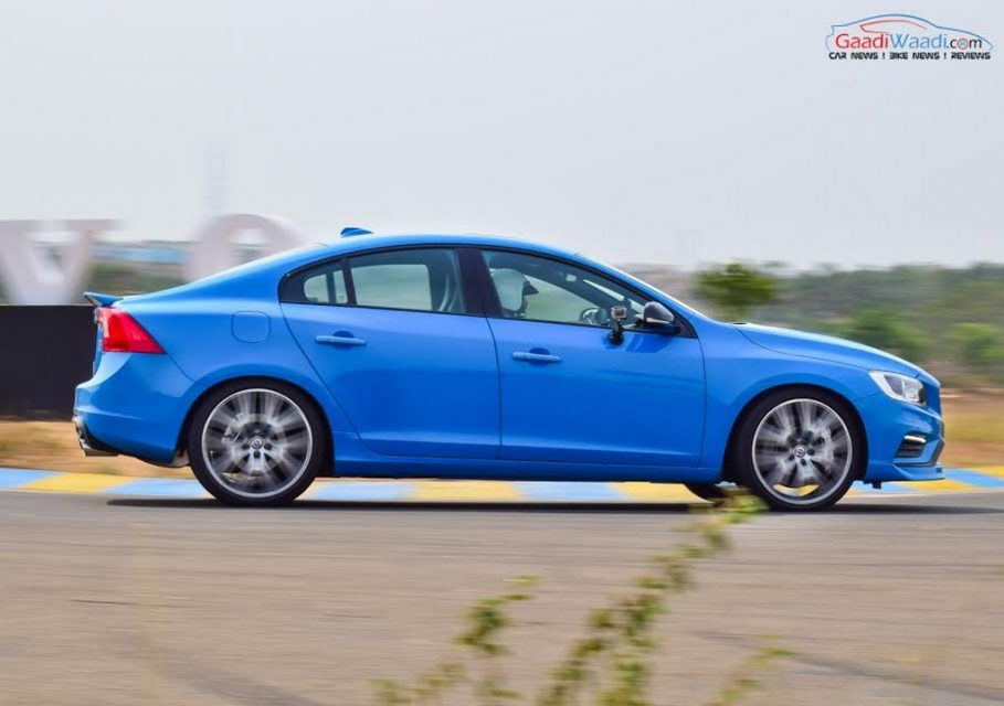 Volvo S60 Polestar India Side Profile