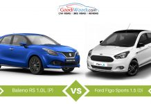 ford figo sports vs baleno RS comparison2