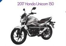 2017 Honda CB Unicorn 150