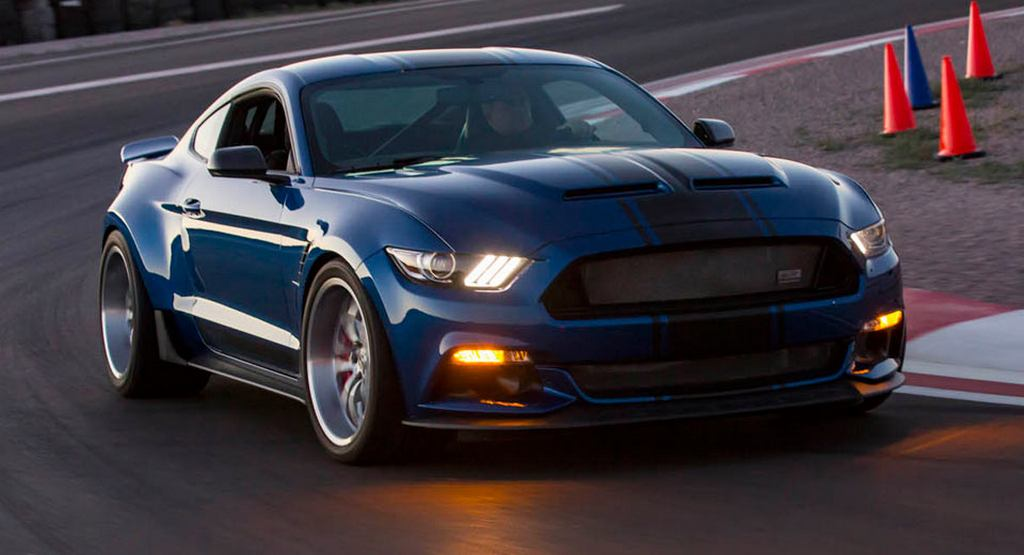 2017 Super Snake Widebody Concept Is The Craziest Ford Mustang