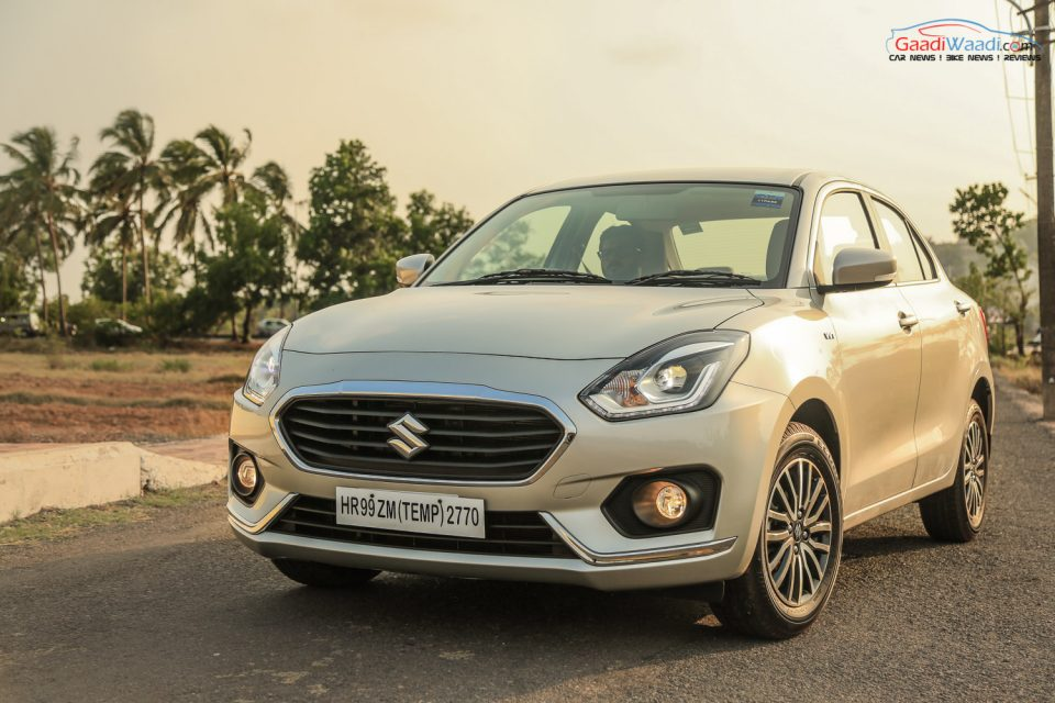 2017 new maruti dzire front review