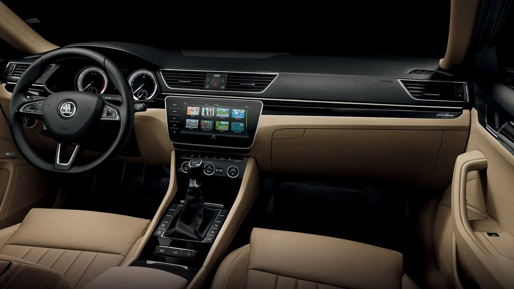 India Bound 2018 Skoda Superb Revealed With Feature Additions