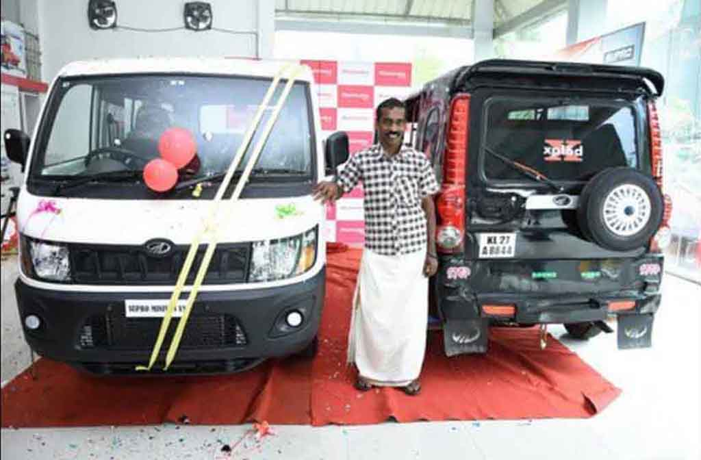 Anand Mahindra Gifts Mahindra Supro To Auto Rickshaw Owner
