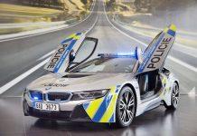 BMW i8 Police Car 1